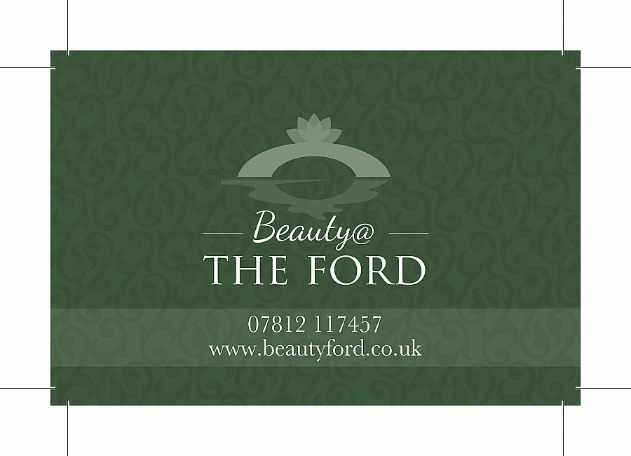 Beauty @ The Ford - Business Card Front