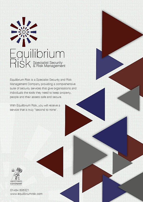 Equilibrium Risk Welcome Leaflets - front