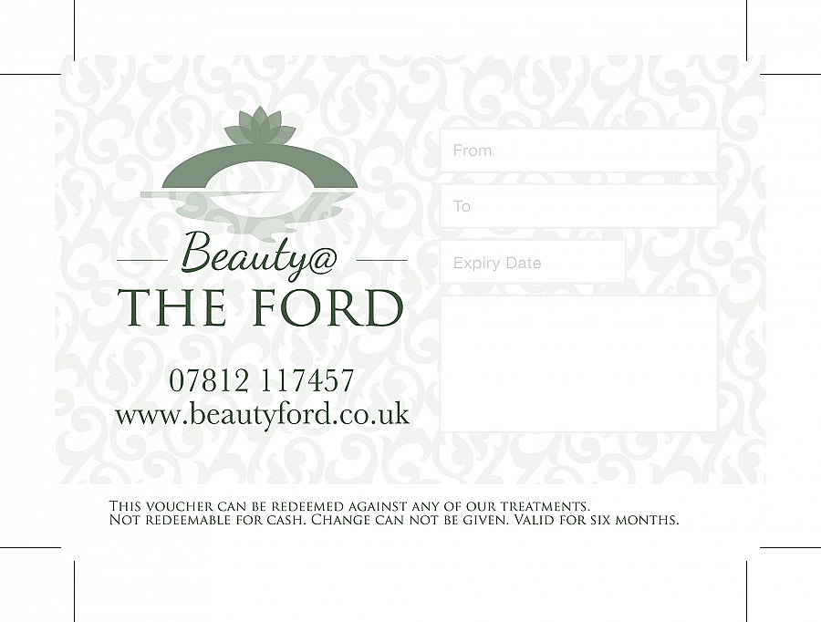 Beauty @ The Ford - Gift Card