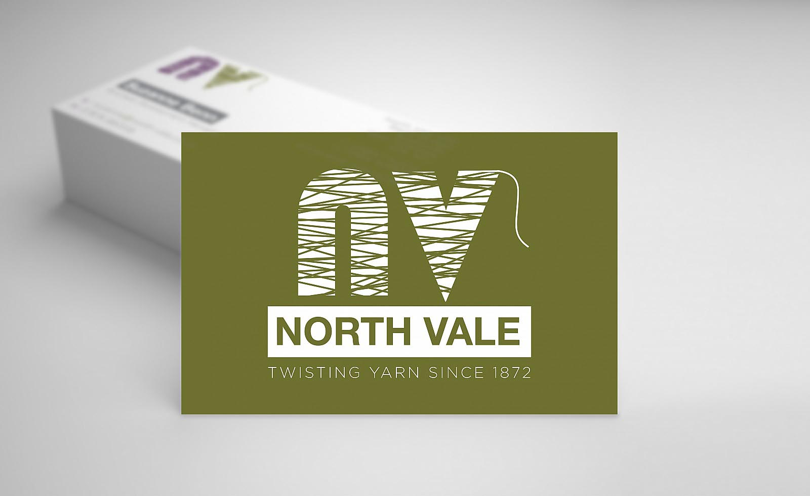 North Vale Business Card