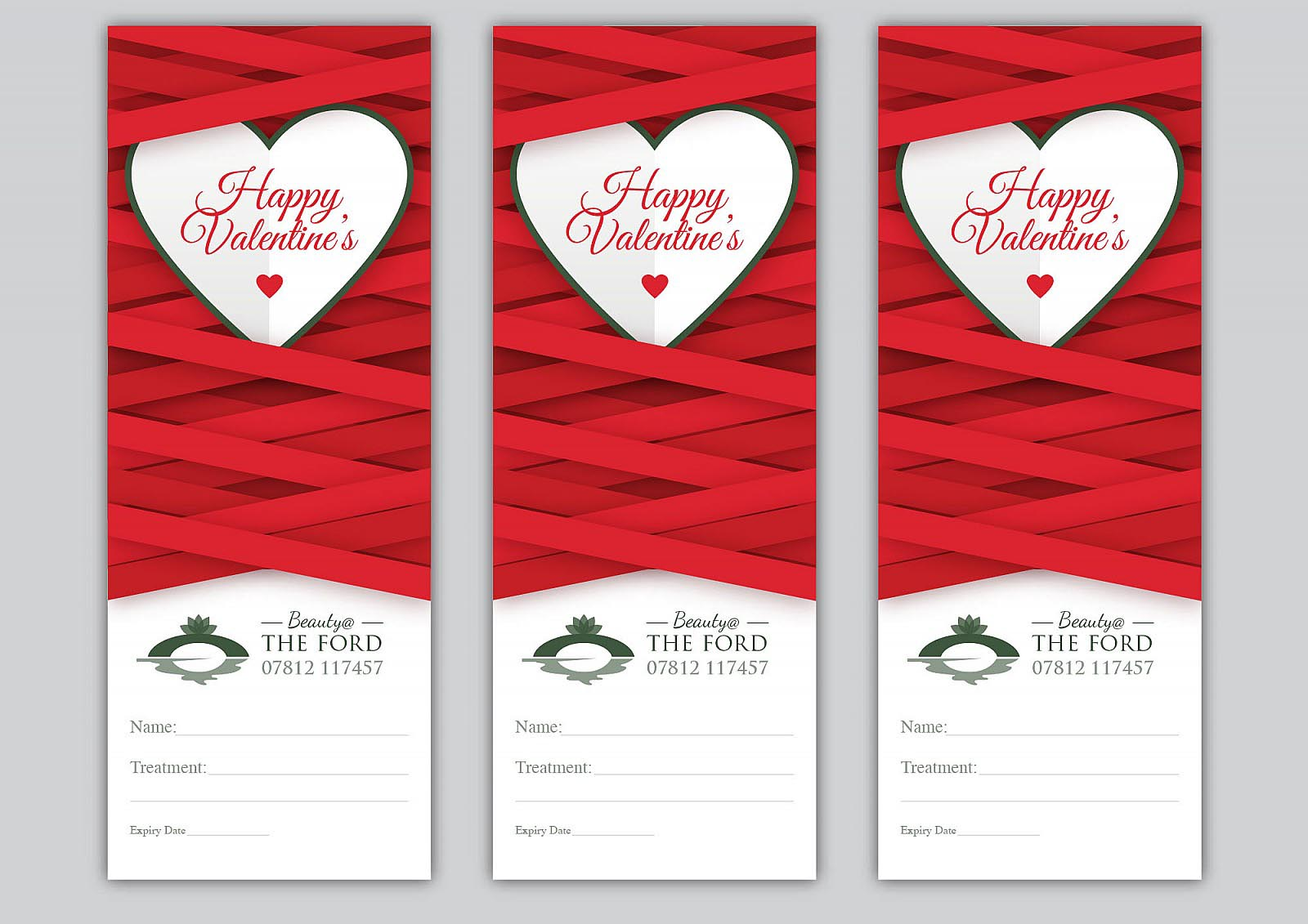 Beauty @ The Ford - Valentines Day Vouchers